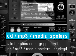 cd mp3 media spelers