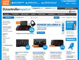 Djcontrollerexpert.nl, één van de nieuwe dj gear shops van Coolblue