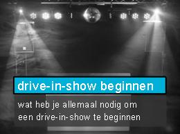 drive-in-show starten