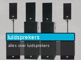 professionele luidsprekers