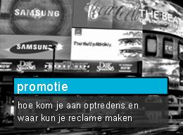 promotie dj of drive-in-show